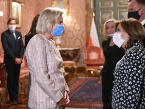 Wypadek Anny Marii Anders na Monte Cassino. Polska ambasador trafiła doszpitala