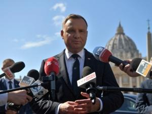 Andrzej Duda o ew. przymusowej relokacji: Nigdy się nie zgodzę. Żaden dyktat UE
