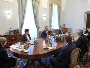 Prezydent spotkał się z rolnikami, branżą mięsną i drobiarską