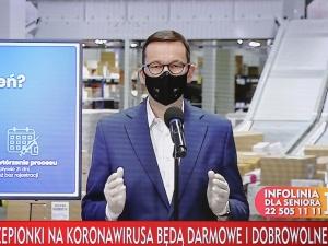 """Premier zdradził nowe informacje o szczepieniach na COVID-19. """"Darmowe i dobrowolne"""""""