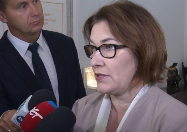 Beata Mazurek:  Wielu z nas uważa, że ciągłe ustępstwa wobec koalicjantów nas osłabiają