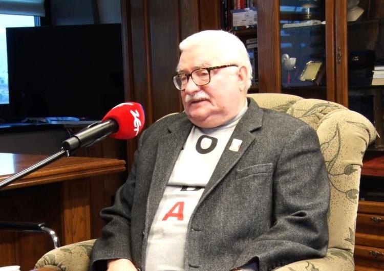 [video] Lech Wałęsa o pieśni wykonanej na jego cześć: