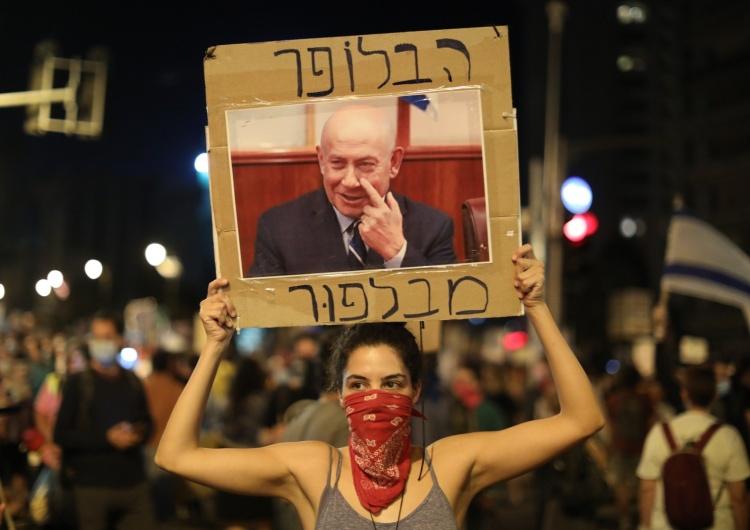 Izrael: Mimo drastycznych obostrzeń z powodu Covid-19, tysiące ludzi protestowały w Jerozolimie