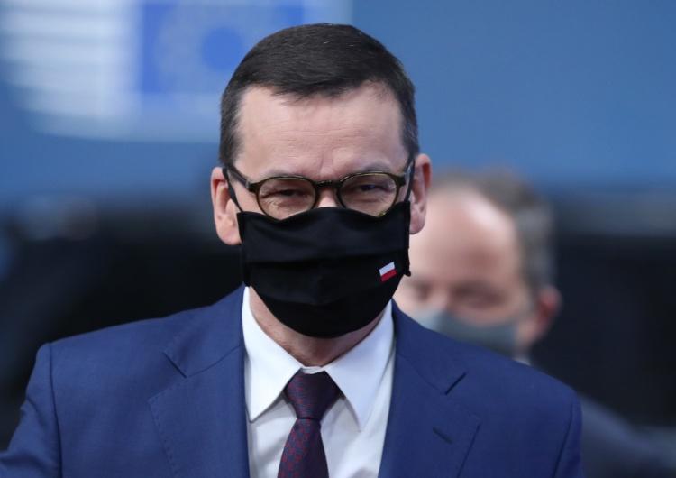 EPA/ARIS OIKONOMOU  Premier Morawiecki w Brukseli:
