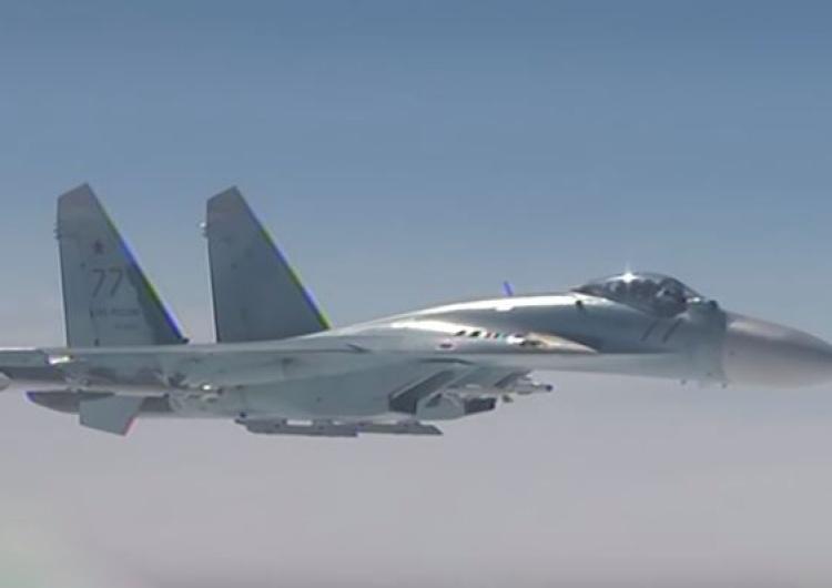 W zeszłym tygodniu myśliwce NATO były 18 razy podrywane do rosyjskich samolotów wojskowych