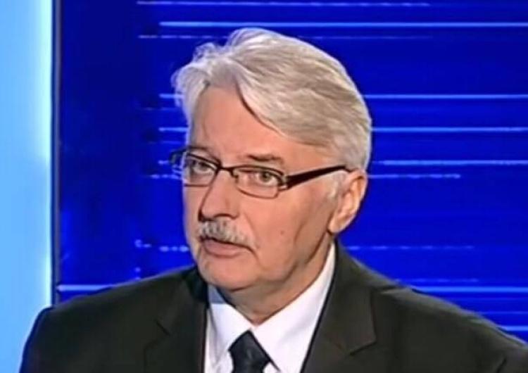 Witold Waszczykowski zabrał głos w sprawie reparacji wojennych od Niemiec