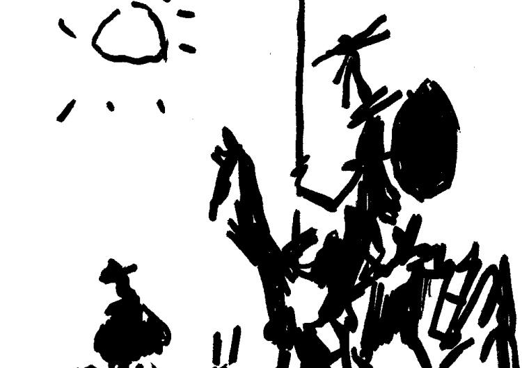 [Kliknij aby zobaczyć całość] Nowy rysunek Krysztopy: Pisowskie trolle