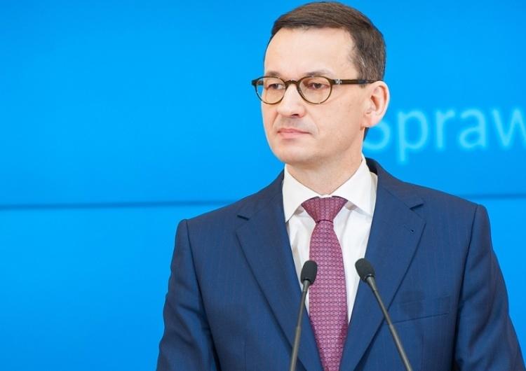 Morawiecki o doniesieniach Onetu: To nieprawda, ktoś został wprowadzony w błąd