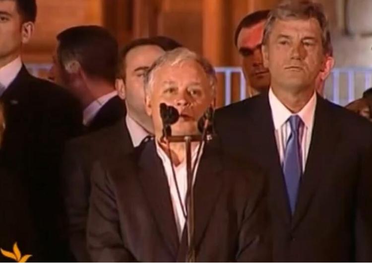 [video] 10 lat od wizyty Lecha Kaczyńskiego w Gruzji: Jesteśmy tutaj, by wyrazić całkowitą solidarność