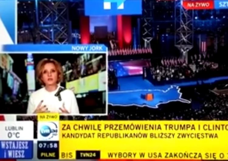 """[video] Przypominamy amb. Mosbacher co J. Pieńkowska mówiła w TVN o wyborze Trumpa: """"Co teraz będzie?"""""""