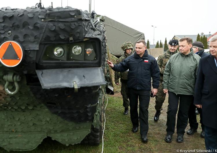 Prezydent: Anakonda-18 to podkreślenie naszego sojuszu