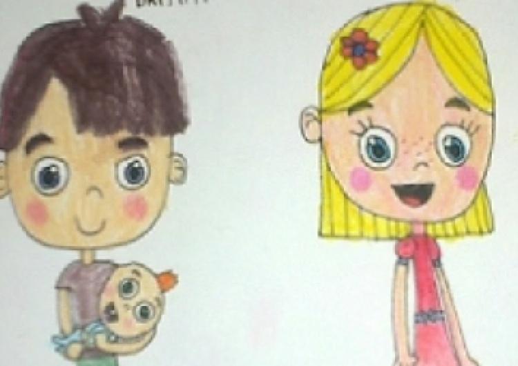 [Listy od czytelników] Ten obrazek namalowała dwunastoletnia dziewczynka z autyzmem