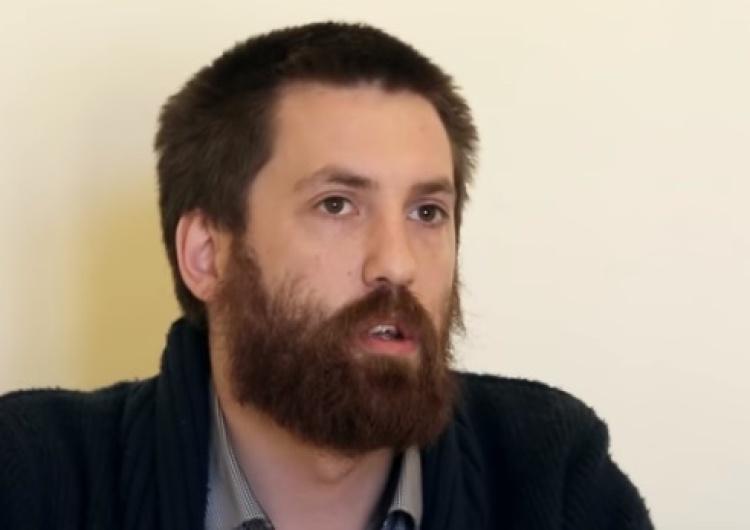 """Dawid Wildstein o rzeczniku PSL: """"Mały, zakłamany, agresywny człowiek. Kosiniak może tylko zdymisjonować"""""""