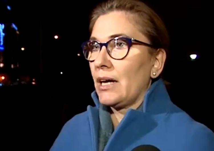 """Beata Mazurek do PO: """"Opamiętajcie się!"""""""