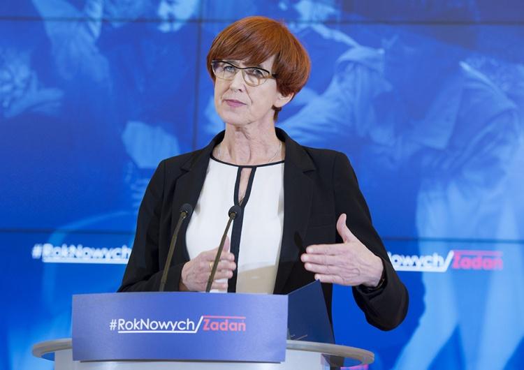 """Minister Rafalska odpowiada na zarzuty mówiące, że inflacja """"zjada"""" program 500+"""