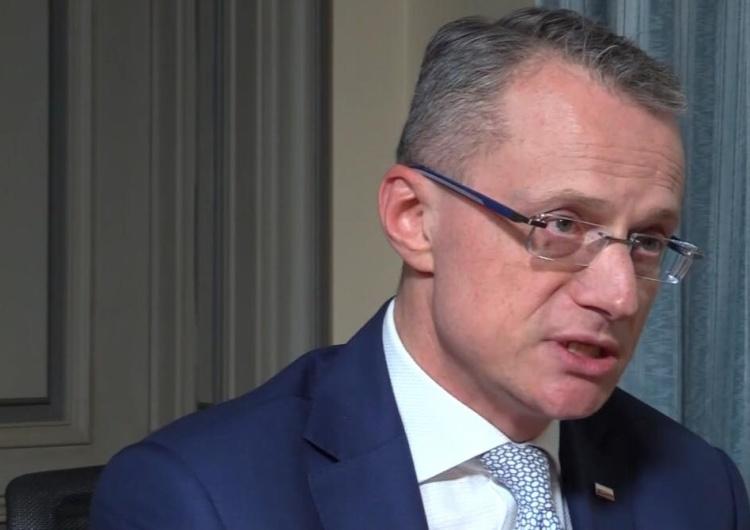 """Atakujący M. Magierowskiego miał się zdenerwować, bo nie wpuszczono go do ambasady i nazwano """"Żydem"""""""