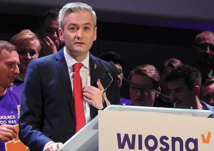 Wyborcza: Biedroń nie wystartuje do Sejmu. Będzie kandydatem lewicy na prezydenta
