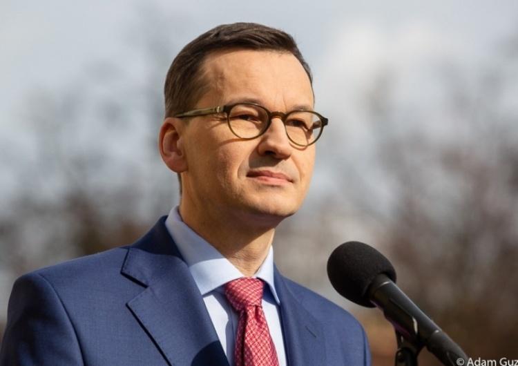 Premier Morawiecki: Chcemy, by europejskość to były przede wszystkim europejskie płace