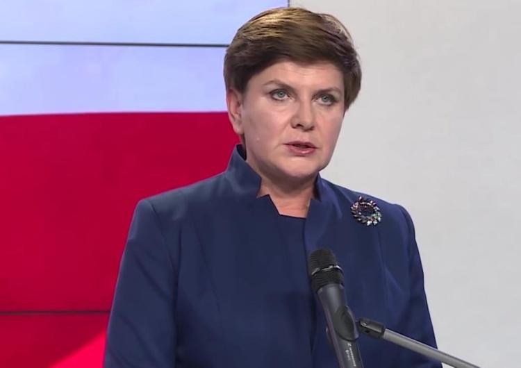 """Beata Szydło o sugestiach TVN: """"Szczególnie obrzydliwe kłamstwo"""". Była premier zapowiada kroki prawne"""
