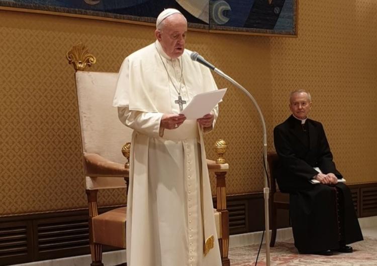 """""""Proszę Boga o dary Ducha Świętego dla Was i Członków Waszego Związku"""". Papież Franciszek do władz """"S"""""""