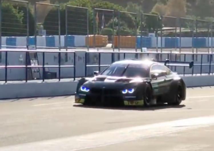 [video] Pierwsze jazdy Roberta Kubicy w BMW na torze w Jerez. 36 okrążeń już za nim