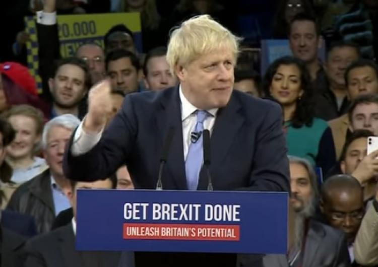 Wielka Brytania: Miażdżące zwycięstwo Partii Konserwatywnej