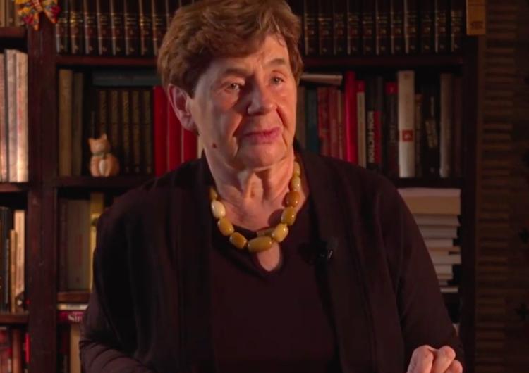 Zofia Romaszewska: Uważam, że należy stanowczo zdyscyplinować sędziów