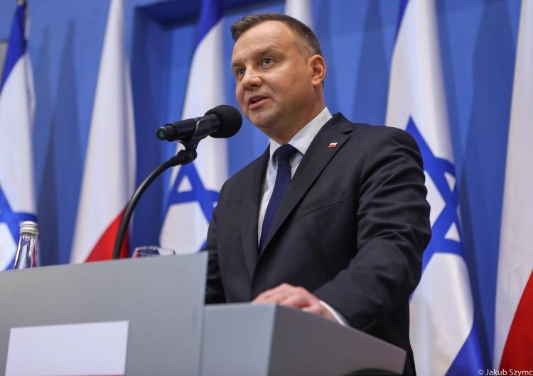 Prezydent w Auschwitz o pamięci polskich rodzin które straciły bliskich także w obozach koncentracyjnych