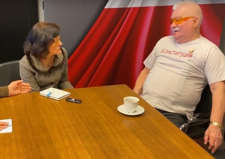 """""""Z Warszawy zawsze było bliżej do Moskwy niż do Waszyngtonu"""". Wałęsa udzielił wywiadu rosyjskim mediom"""