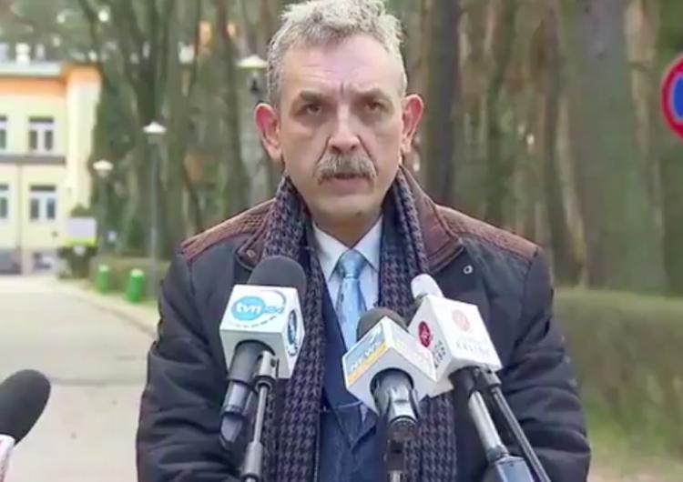 """Dyrektor szpitala apeluje: """"Rodaku nie kłam medyka"""". Posłużył się przykładem zmarłej37-latki"""