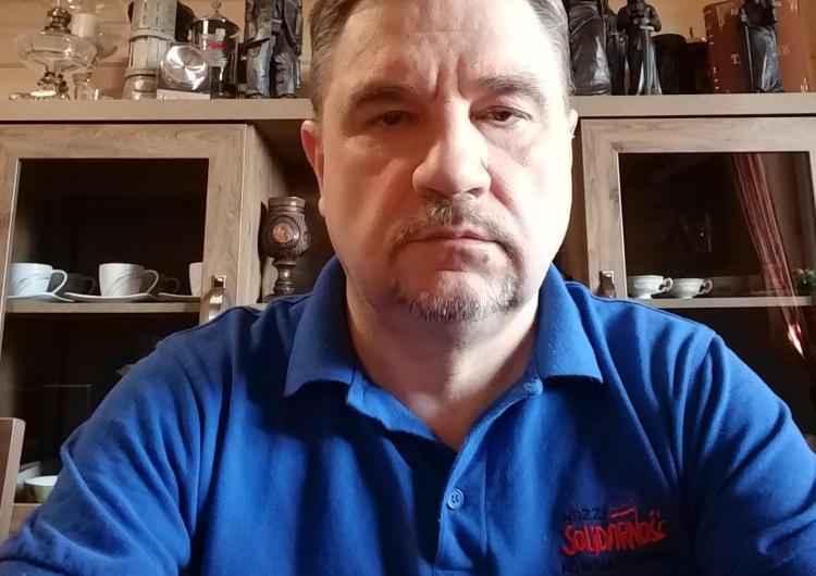 """Szef """"Solidarności"""" Piotr Duda w trakcie wideo konferencji z rządem w ramach konsultacji społecznych """"Tarczy antykryzysowej"""" Rząd uwzględnił część postualtów """"Solidarności"""": Bez porozumienia nie będzie wsparcia w ramach """"Tarczy"""""""
