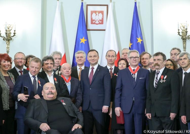 Krzysztof Sitkowski Prezydent odznaczył działaczy Niezależnego Zrzeszenia Studentów
