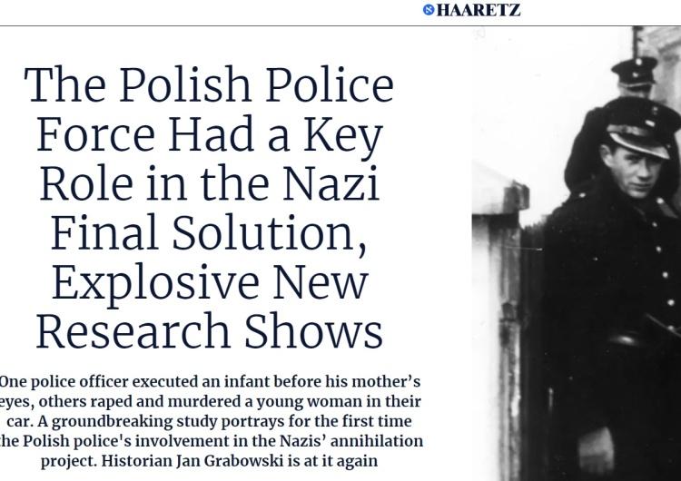 Haaretz. Grabowski. Russia Today. Akcja szkalowania Polski przy pomocy książki zmiażdżonej przez IPN