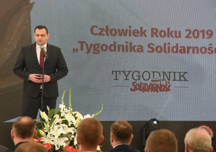 """Michał Ossowski, red. naczelny """"TS"""": """"Panie Prezydencie! Solidarność mogła zawsze na Pana liczyć"""""""