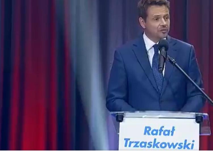 """[video] """"Nie będę oceniał..."""". Tak na pytanie o byłą TW SB Jolantę Gontarczyk odpowiedział Trzaskowski"""