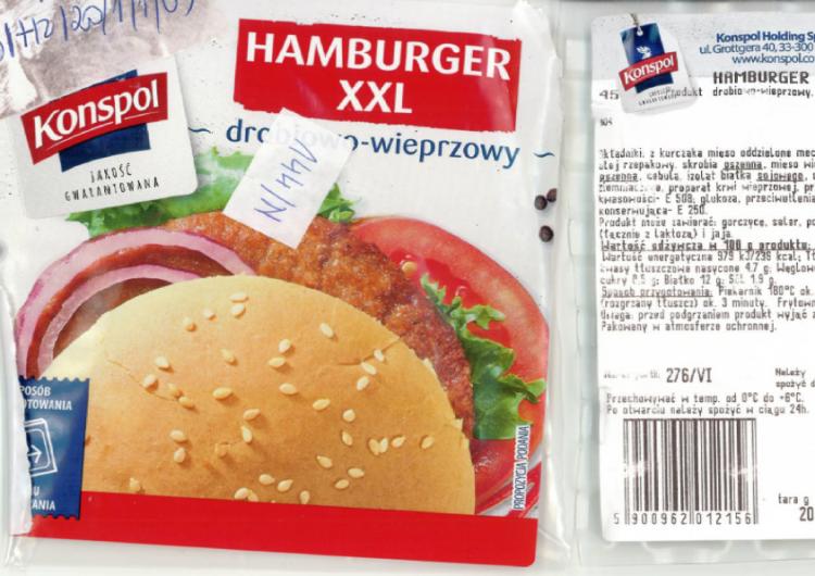 Uwaga! Te popularne hamburgery wycofano ze sprzedaży. Ich zjedzenie grozi...