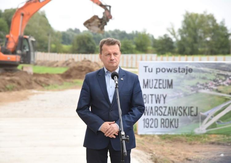 [FOTO] Szef MON: Rozpoczęła się budowa Muzeum Bitwy Warszawskiej
