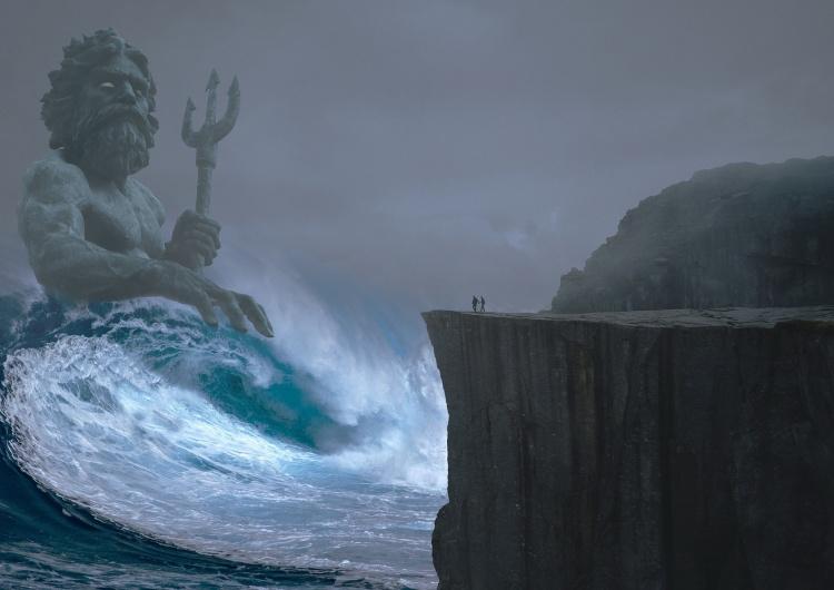 ntnvnc Hel: Turysta uszkodził posąg Neptuna i pozbawił go... genitaliów. Sprawcy grozi więzienie