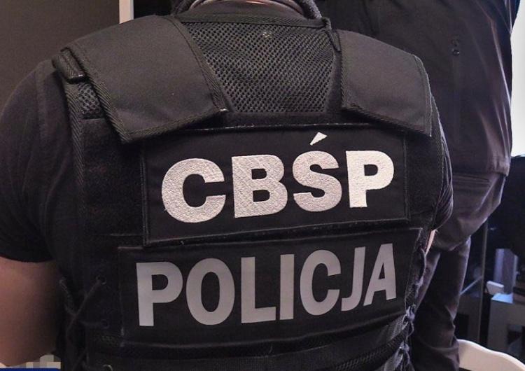 CBŚP: Policjanci znaleźli ponad 13 mln zł w gotówce. Zatrzymano 8 osób