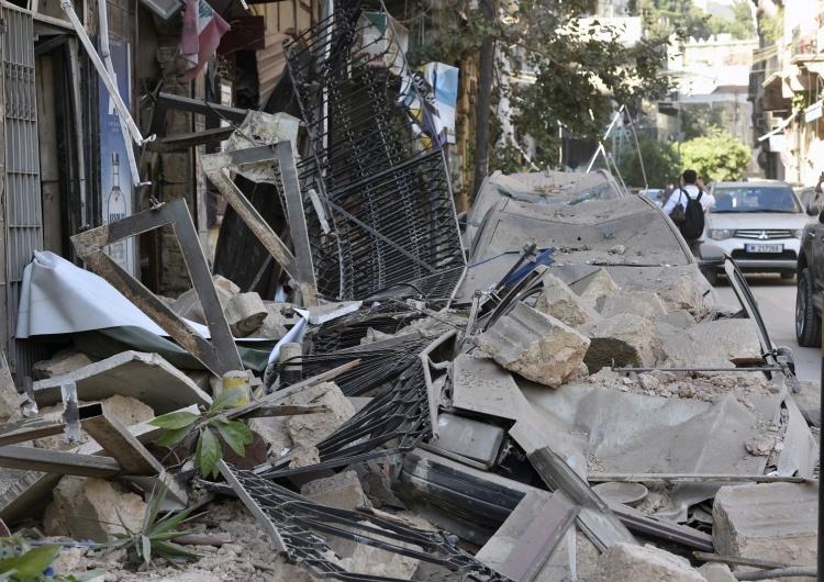 WAEL HAMZEH Caritas Polska uruchamia zbiórkę na pomoc ofiarom w Bejrucie