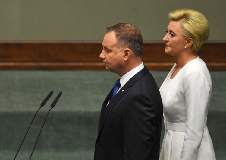 [Foto] Andrzej Duda złożył przysięgę prezydencką przed Zgromadzeniem Narodowym