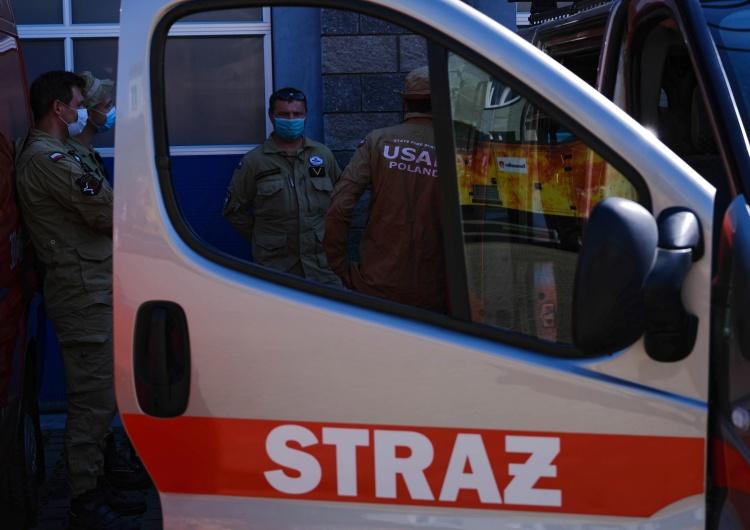 Mateusz Marek Rzecznik PSP: Polscy strażacy rozpoczęli prace poszukiwawcze na miejscu wybuchu w Bejrucie