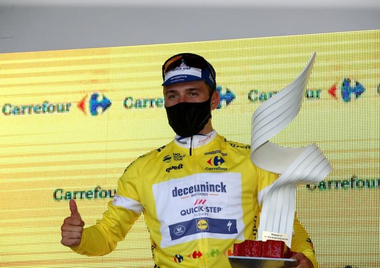 Grzegorz Momot Tour de Pologne - zwycięstwo Remco Evenepoela