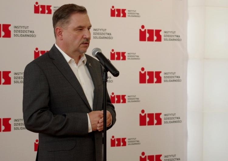 """Piotr Duda: """"Oczekuję od ECSu, że do 31 sierpnia Tablice wrócą tam gdzie powinny być"""""""