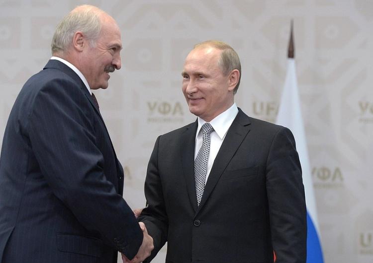 Rosja: Media mówią o spotkaniu Łukaszenki z Putinem. Kremlzaprzecza