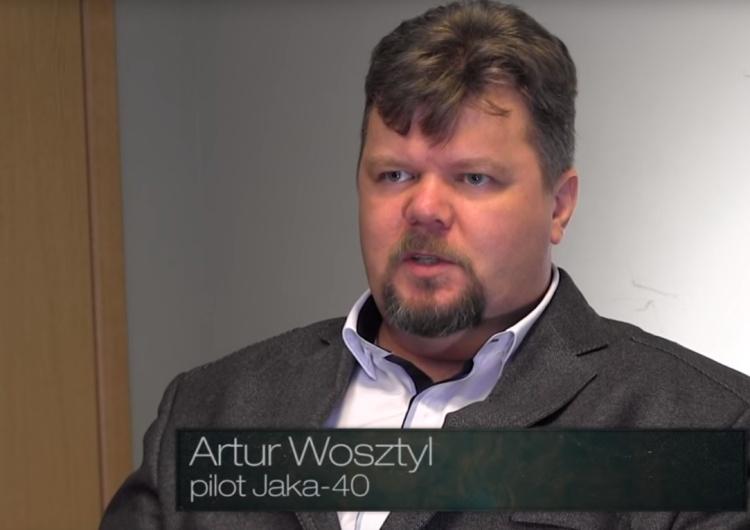 [video] Artur Wosztyl o katastrofie smoleńskiej: Trzaski, detonacje, dźwięk milknącego silnika