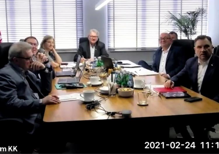 Hybrydowe posiedzenie Komisji Krajowej o budżecie Związku
